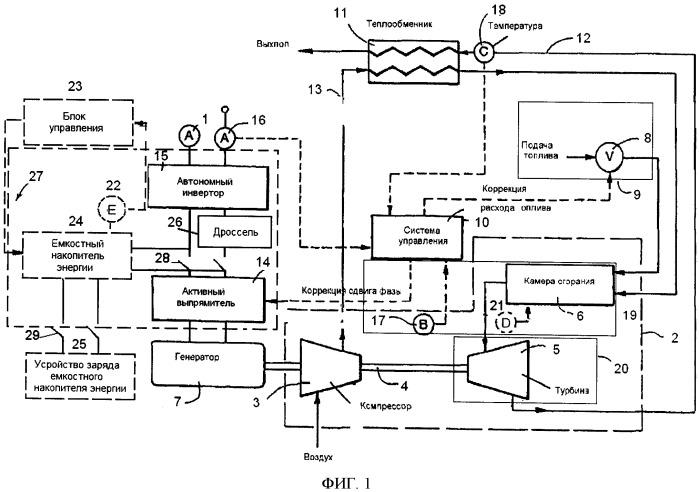 Система генерирования электроэнергии