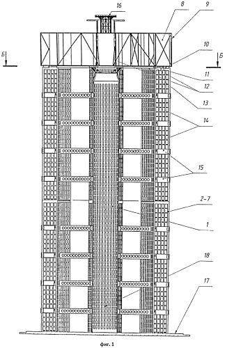 Сироты способ сооружения высотной башни ветроэнергетической