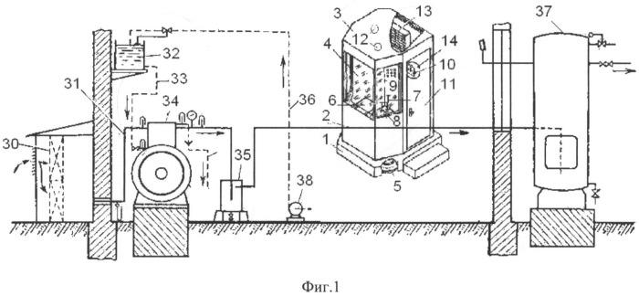 Стационарная компрессорная установка