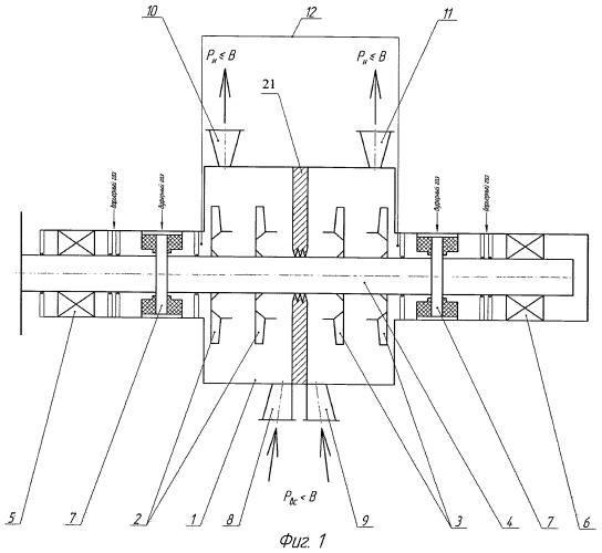Вакуумный центробежный компрессор