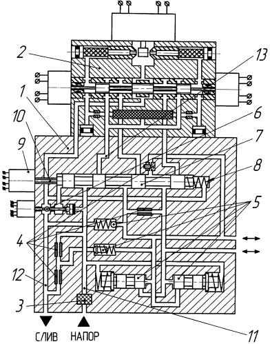 Гидравлический агрегат управления