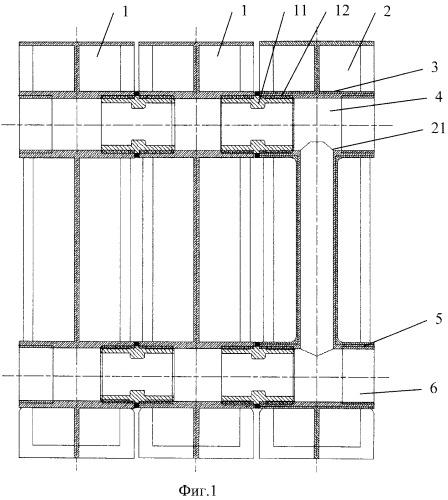 Секционный радиатор водяного отопления и опора для его установки