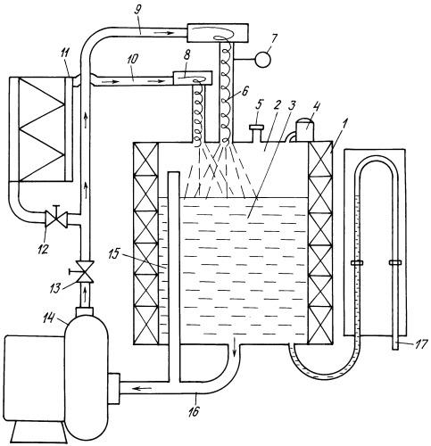 Способ гидродинамического нагрева воды и установка для нагрева воды