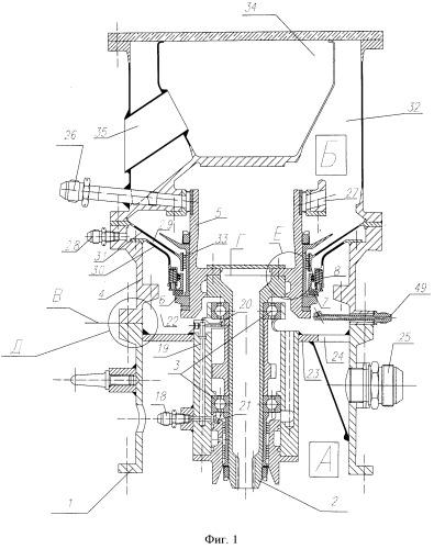 Установка для испытания вращающихся элементов конструкции машин