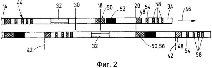 Блок тестовой ленты и устройство с тестовой лентой