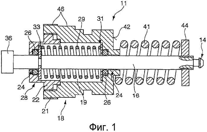 Затвор клапана и термостатическое регулирующее устройство для регулирования массового потока