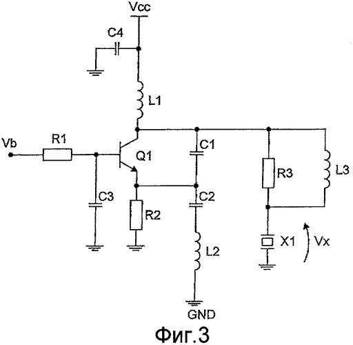Схема возбуждения поверхностных акустических волн и генератор колебаний на ее основе