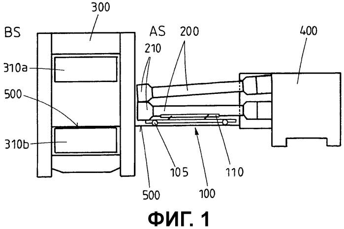 Тележка и способ транспортирования приводного шпинделя для валка прокатной клети