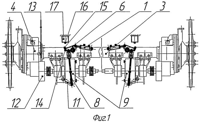 Механизм управления фрикционами и тормозами гусеничной машины