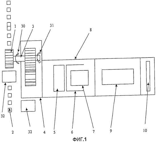 Зубчато-реечная приводная система для нескольких направляющих опор