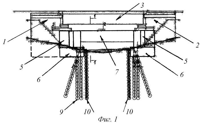 Способ ликвидации деформаций устоев мостовых переходов