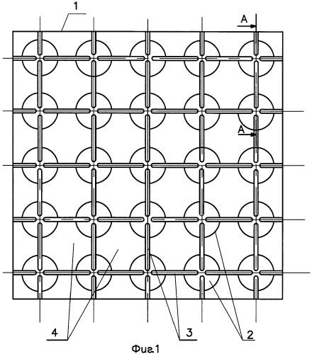 Способ изготовления облегченной монтажной панели