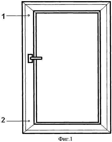 Механизм блокировки открываемых створок пластикового окна
