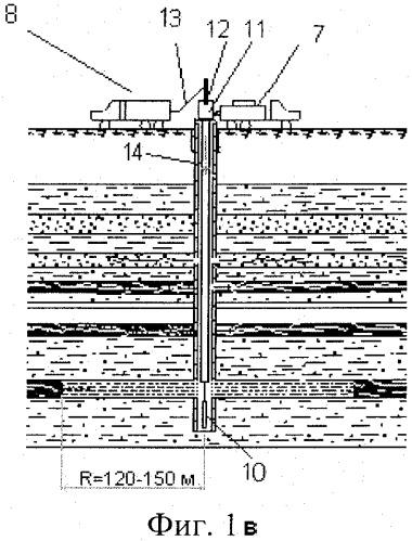 Способ обработки метаносодержащего угольного пласта через скважины с поверхности