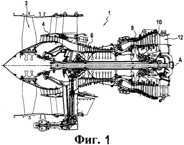 Выхлопной кожух газотурбинного двигателя