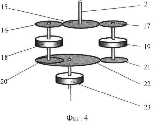Механизм преобразования вращения ветроэнергетической установки