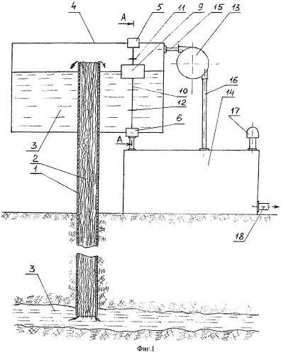 Установка для подъема жидкости из скважины