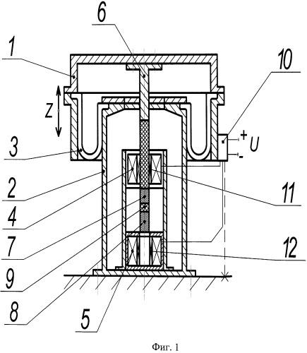 Электропневматический амортизатор