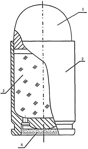 Заряд для 9 мм пистолетного патрона