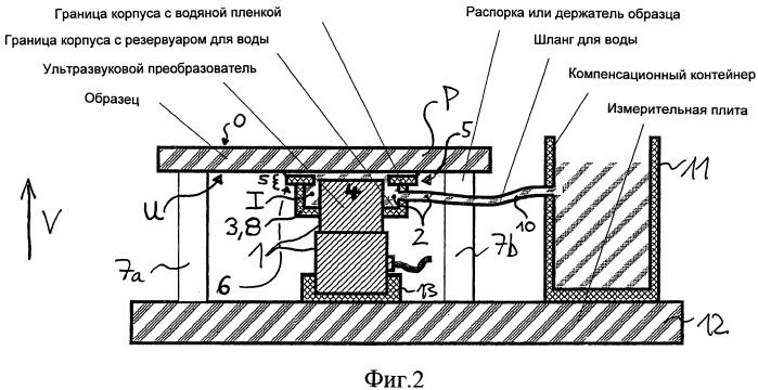 Перемещаемое устройство подачи звука для растровой силовой микроскопии с акустическим возбуждением образца