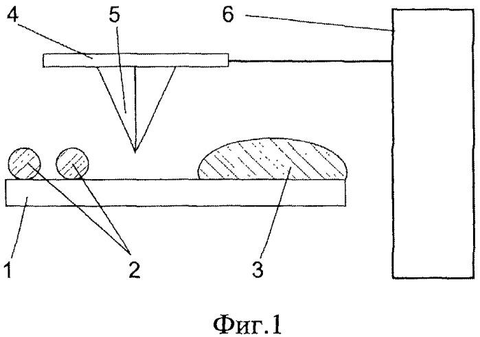 Способ изготовления коллоидного зондового датчика для атомно-силового микроскопа