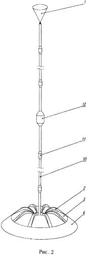 Донный тралоустойчивый автономный гидроакустический модуль