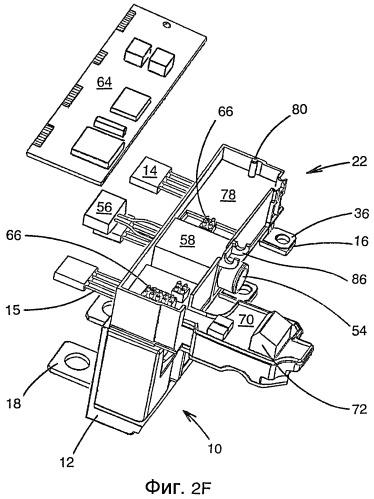 Корпус устройства электронного разъединителя для автоматического выключателя, устройство электронного разъединителя и способ его сборки
