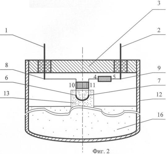 Тепловая батарея с устройством защиты от электромагнитного излучения
