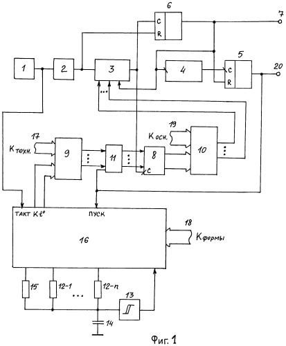 Устройство термокомпенсации кварцевого генератора