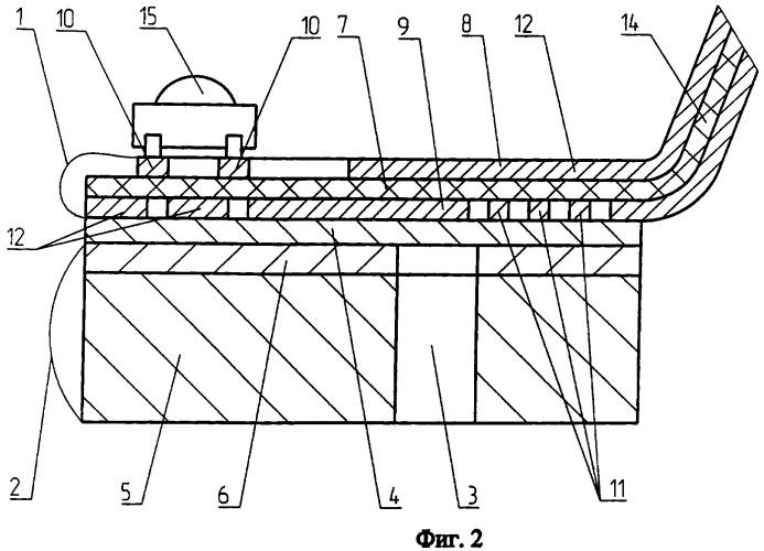 Печатная плата на металлической подложке и способ ее изготовления