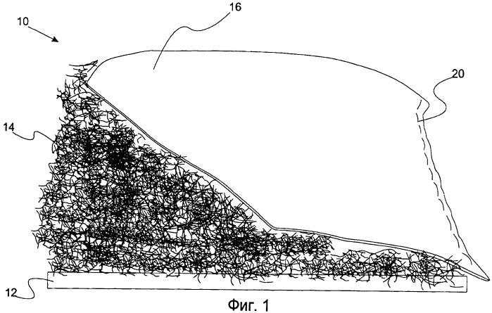Слоистое изделие для отделки из возобновляемых природных волокон