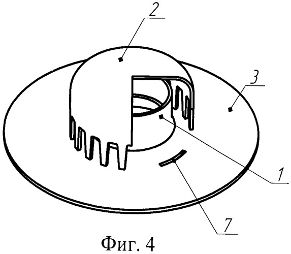 Контактный элемент колпачковой тарелки