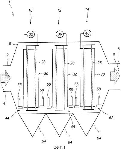 Способ оценки пылевой нагрузки электрофильтра и способ и устройство управления встряхиванием электрофильтра