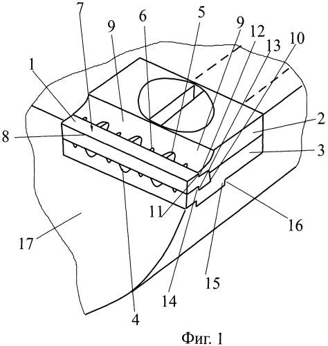 Крепежное устройство для режущих пластин