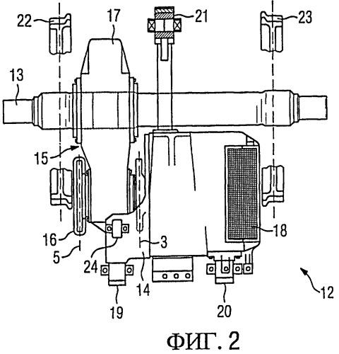 Приводное устройство для рельсового транспортного средства