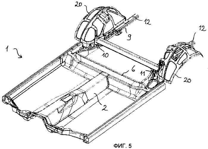 Рамная конструкция для автомобиля