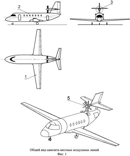 Самолет местных воздушных линий
