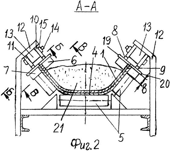 Промежуточный линейный привод ленточного конвейера