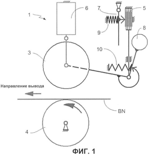 Саморегулируемое устройство обработки листового материала и способ обработки с использованием этого устройства