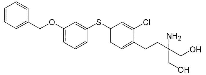 Способ кристаллизации гидрохлорида 2-амино-2-[2-[4-(3-бензилоксифенилтио)-2-хлорфенил]этил]-1,3-пропандиола