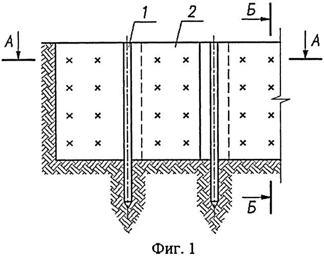 Несъемная опалубка для возведения стен в грунте
