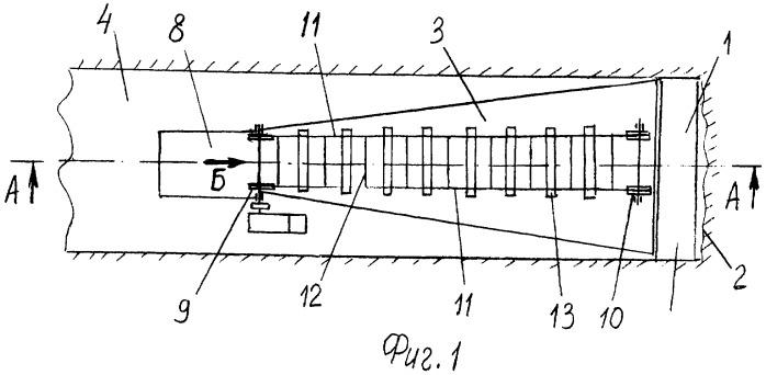 Комплекс для проходки выработки метрополитена круглого поперечного сечения
