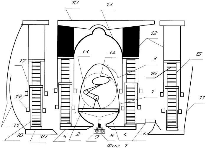 Механизированная крепь для крутых пластов