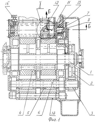 Механизм газораспределения фаз роторного двигателя внутреннего сгорания