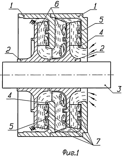 Ступень центробежного многоступенчатого насоса открытого типа