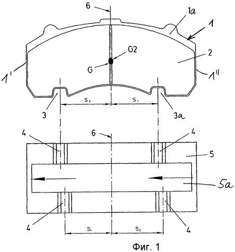 Дисковый тормоз, имеющий защиту от установки в неправильном положении тормозных колодок