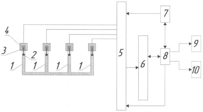 Устройство контроля состояния конструкции здания или инженерно-строительного сооружения