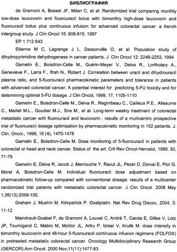Оптимизация индивидуальных доз 5-фторурацила при режиме folfox
