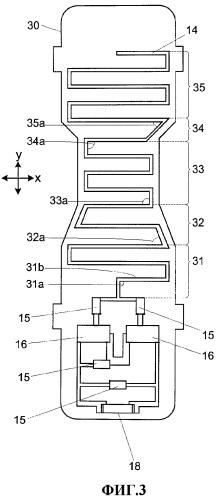 Микрополосковая антенна для рассеивающего электромагнитное излучение устройства