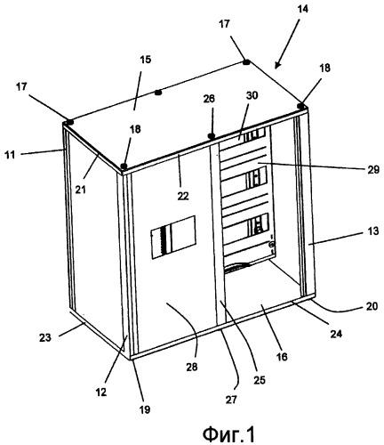 Распределительный шкаф для электрического монтажного распределения